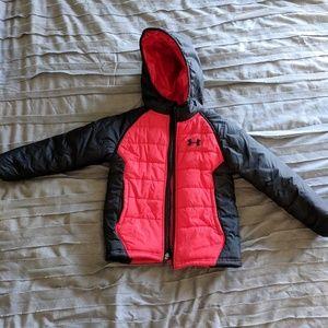 6a726856 Little Boys Under Armour Werewolf Puffer Jacket